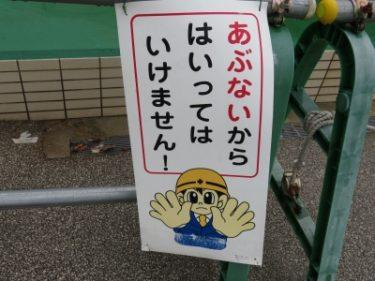 【チュウイビト・立入禁止看板 No.0003】大きな瞳がチャームポイントの童顔タイプ
