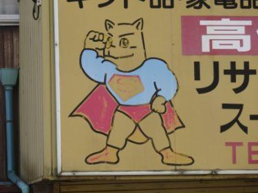 【クソキャラ No.0002】なんか変な動物なスーパーマン