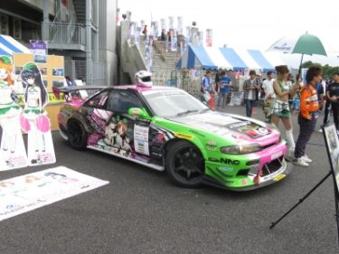 【おもしろ車 No.0003】すげぇ!ガルパンレーシングカー★