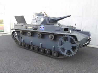 【おもしろ車 No.0004】エキサイティング戦車シート(Ⅳ号戦車)
