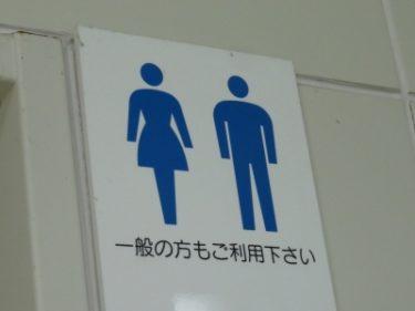 【トイレマーク No.0003】ちょっと手を抜いたため男になってしまった多目的トイレ