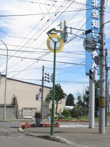 【その他 No.0013】世にも珍しい、ひまわり街灯