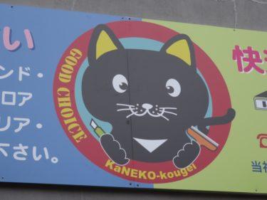 【クソキャラ No.0015】リフォーム頑張る黒猫